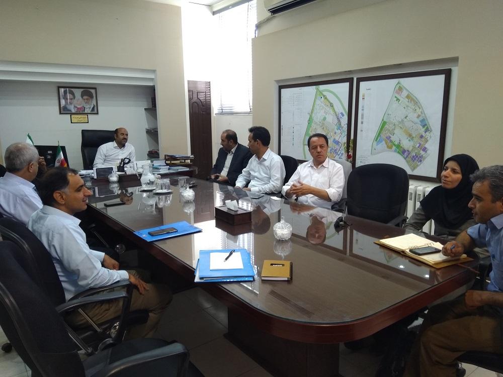 کمیسیون سرمایه گذاری شهرداری شاهدیه