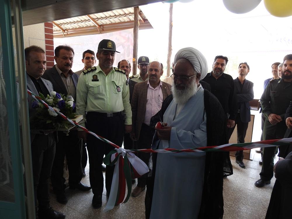 افتتاح مدرسه نیک اندیشان مهر در شاهدیه با حضور مهندس میرنژاد شهردار شاهدیه